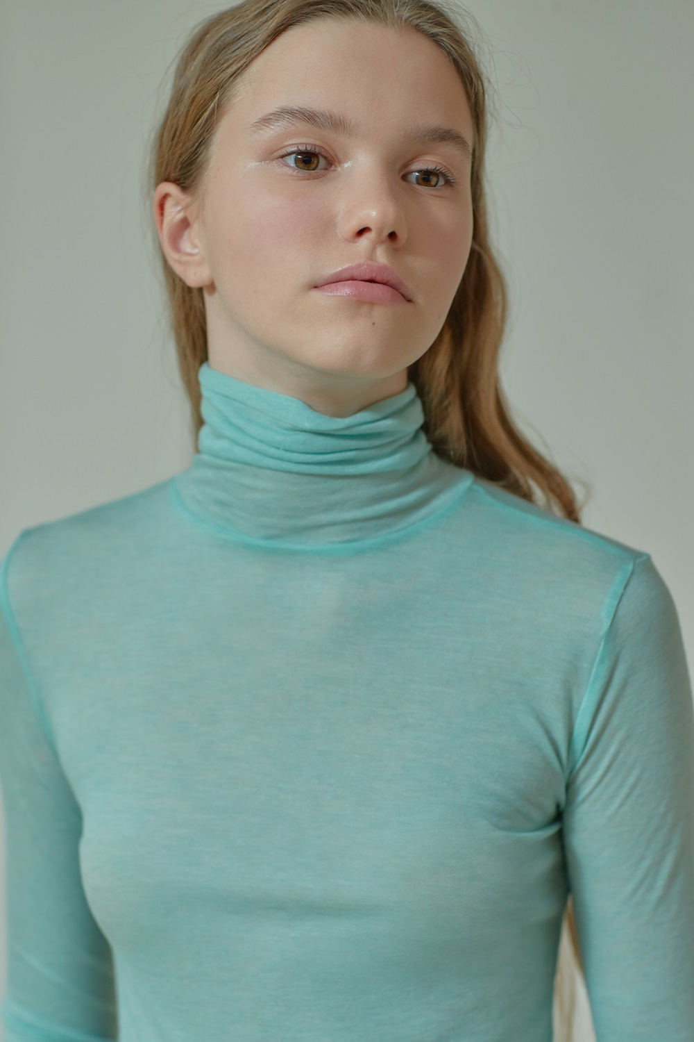 SLIMFIT TURTLE NECK TTS91TW01 MINT